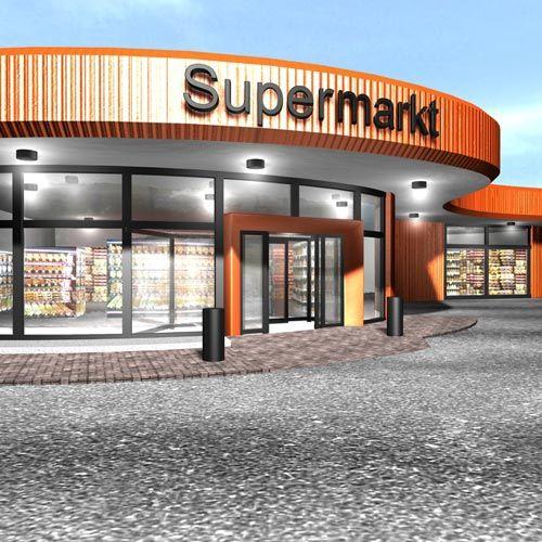 Supermarkt ter voorzieningen