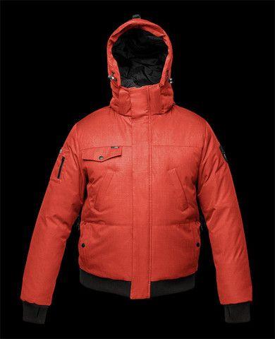 Nobis Men's Stanford Jacket in Red