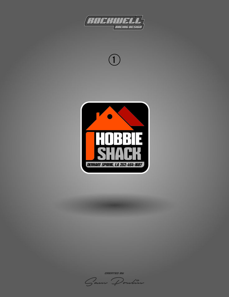 Hobbie Shack logo submission by Rockwell Racing Design