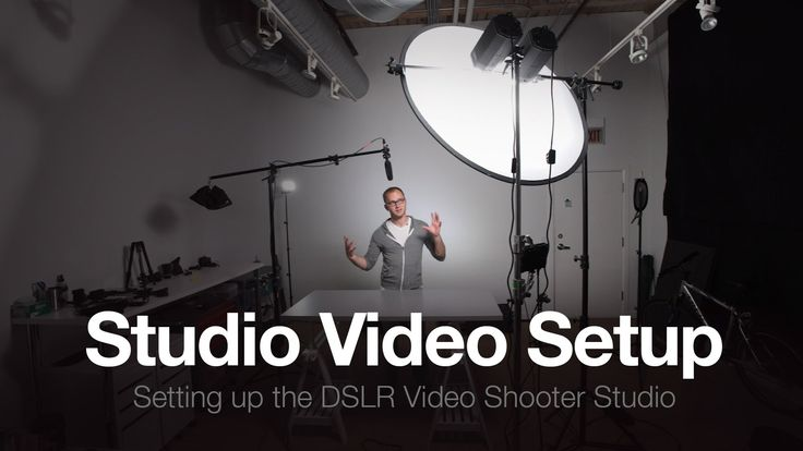 Video showing you how I setup my studio for podcast shooting. Get links to gear mentioned here: http://dslrvideoshooter.com/studio-part-3-setup-video-studio/