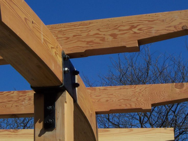 Wood Beam Construction ~ Images about post and beam on pinterest timber