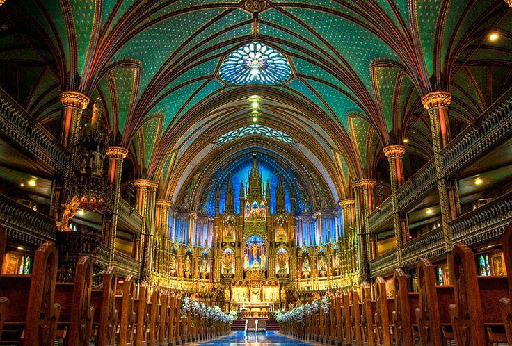 Visit beautiful Notre Dame Basilica