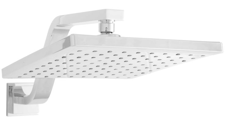 Linsol Tiana Square Shower Head and Arm