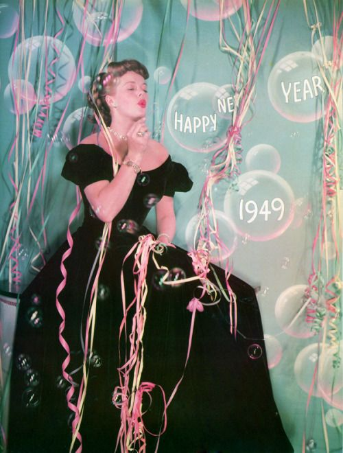 Janis Paige, New Year , 1949