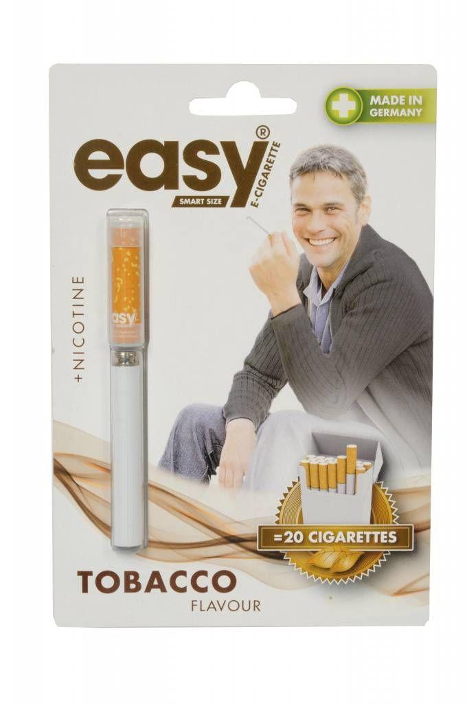 Easy smart size oplaadbare & navulbare E-Sigaret (Tabak smaak met Nicotine)