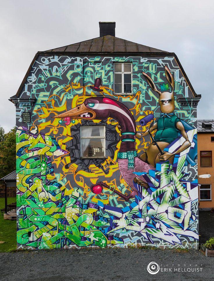 Bless, Musa71, Kram, Awone & Raul De Dios in Tranås Sweden, 2015