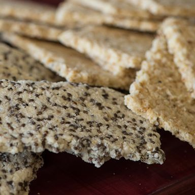 Recipe to make and put into the dehydrator like cookies.