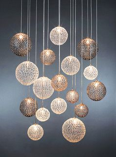 MOD Chandelier - modern - chandeliers - new york - by Shakúff