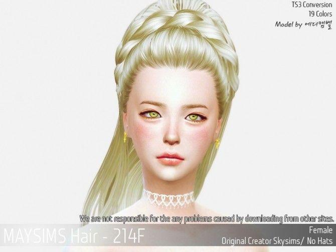 Hair 214F (Skysims) at May Sims