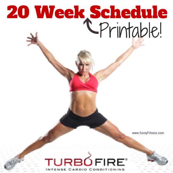 Turbo Fire Schedule Week 1 4 | www.imgarcade.com - Online Image Arcade ...