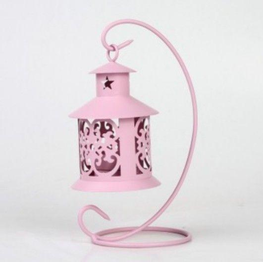 Розовый свеча держатели zakka вырез tieyi мусс украшение подарок свеча стол