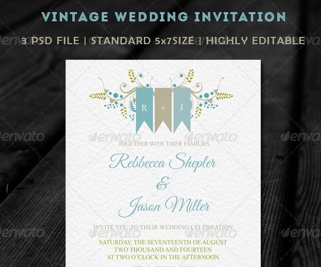 Beautiful Wedding Invitation Templates: 102 Best Images About PSD Templates On Pinterest