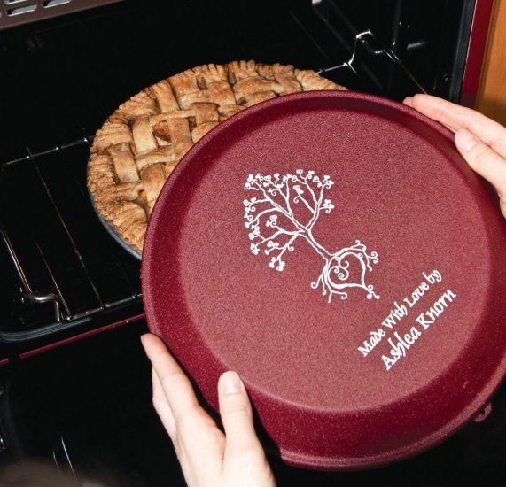 Engraved Cake Pan Lids