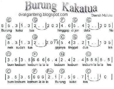 #burungkakatua #kidssong #indonesian