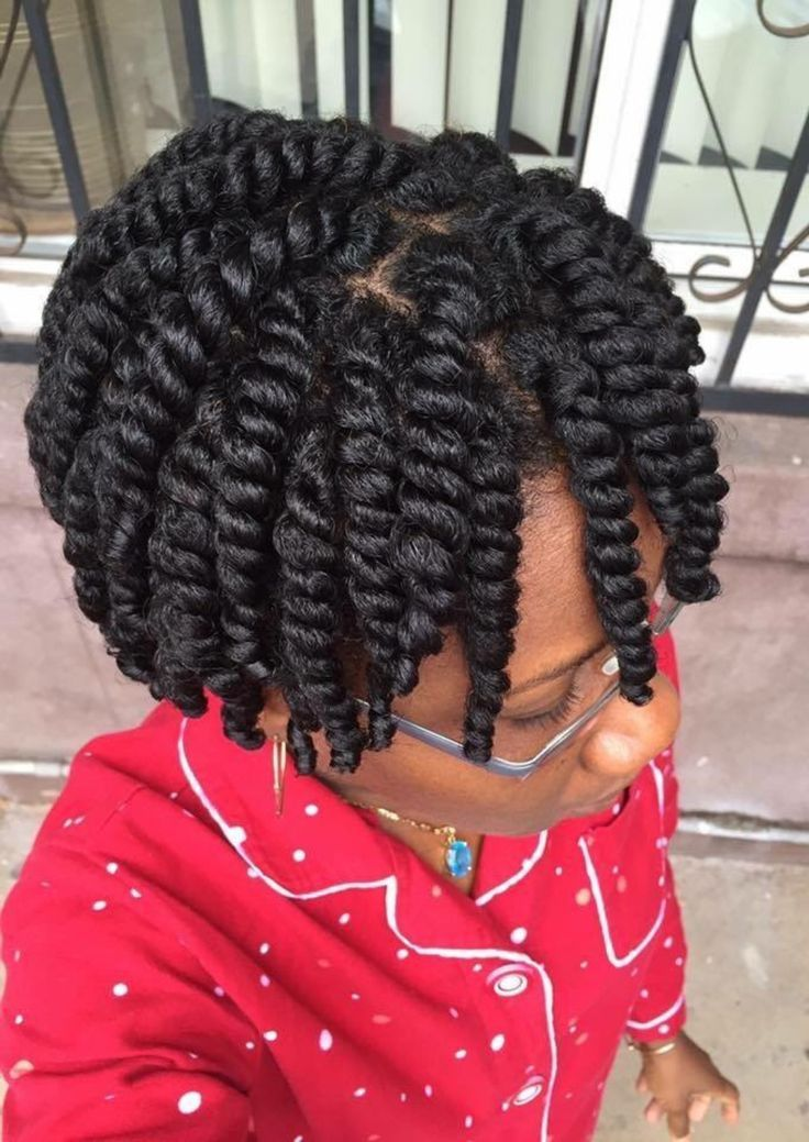 Protective Style Perfect Chunky Twits Follow For More Styles Www Yeahsexyweaves Tumblr Com 4c Natural Hairstyles Short Hair Styles 4c Natural Hair