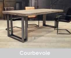 industriele eettafel Courbevoie 220x100 arctic grey (2) 1100 euro