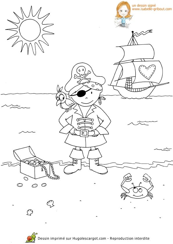 free pirate mermaid coloring pages - photo#14