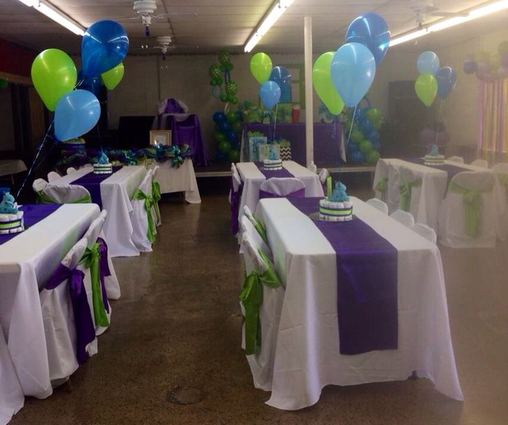 25 best ideas about monsters inc centerpieces on for Baby shower hall decoration ideas