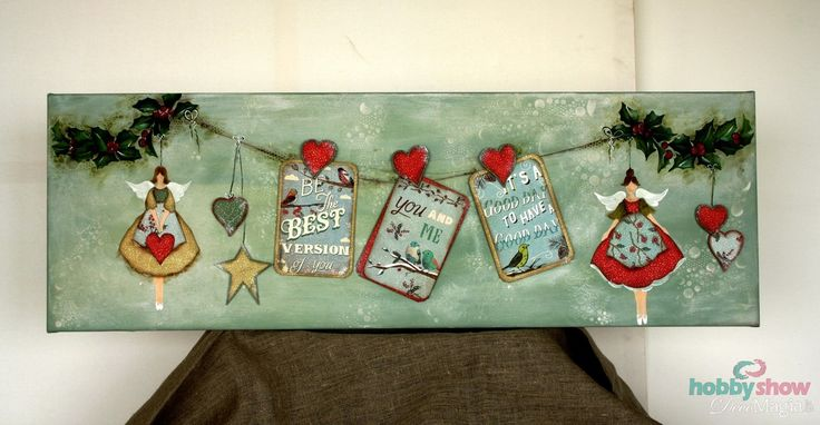 Scrapbooking, painting and... Christmas!