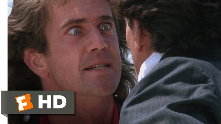 lethal weapon | Lethal Weapon (4/10) Movie CLIP - Do You Really Wanna Jump? (1987) HD ...