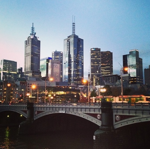 Melbourne, Australia (the city scores an overall rating of 97.5 out of 100).  Personally, I would give it 100.  My favorite city in the world!!