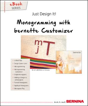 13 best bernina ebooks essential for the library images on just design it ebook monogramming with bernette embroidery software customizer fandeluxe Gallery