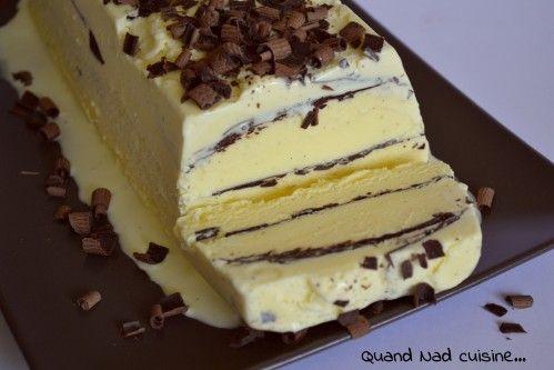 Valse vanille au chocolat croustillant (ou viennetta maison avec une glace vanille à tomber!) - Quand Nad cuisine...