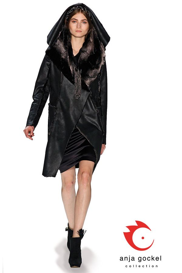 Beautiful and versatile winter coat made out of fake fur
