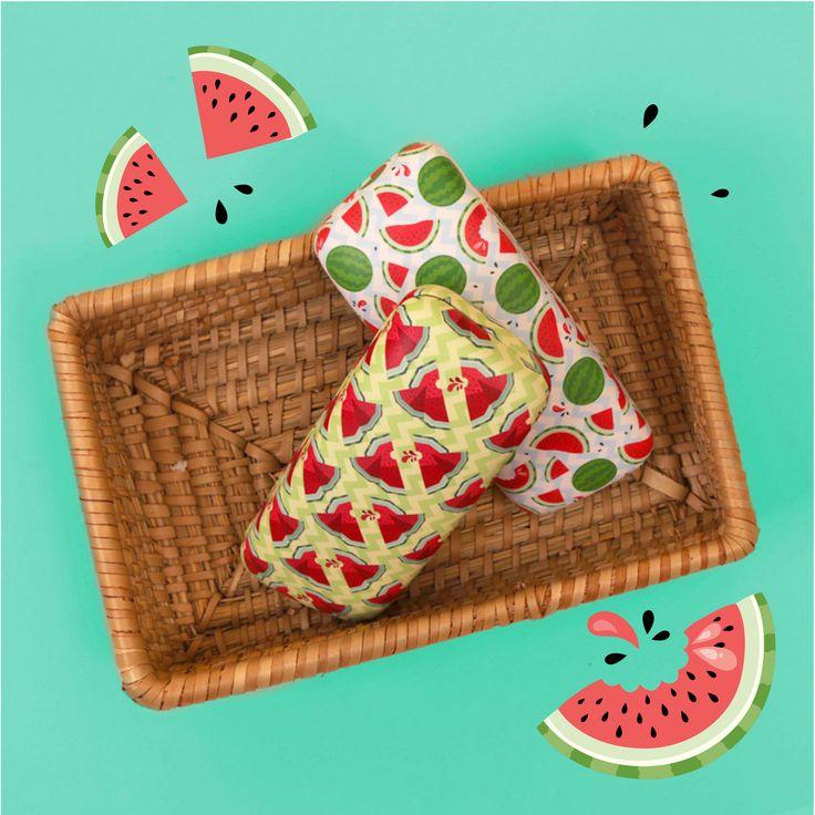 """TIME TO GET TROPICAL! Pouzdro na sluneční brýle s motivem Melou je opravdu """"k nakousnutí""""! #melon #tropical"""