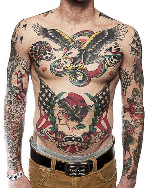 450f1b66ac Sailor Jerry Tattoos for Men