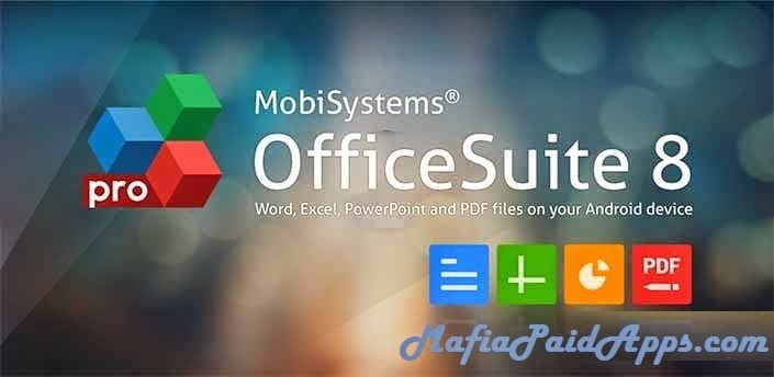 OfficeSuite 8  PDF Editor Premium v8.7.5803 Apk   ANDROID'S TOP MOBILE OFFICE  The most downloaded office app on Google Play  Delivers the most exclusive features over any other office app  Installed on 200 million devices in 205 countries and growing  Over 50 million downloads alongside 55000 daily activations  OfficeSuite lets you easily view edit and create Word Excel and PowerPoint documents convert to/from PDF and manage your files all with the most feature-rich mobile office solution…