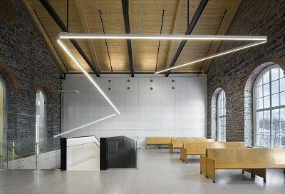 Montmagny Courthouse Project Designer : Groupe A Featured Manufacturer: Axis Lighting Architect / Engineer: CCM2, Dessau © Photos : Stéphane Groleau Location: Québec, QC