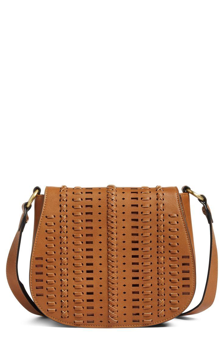 Woven Saddle Bag
