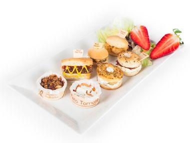 Snacks y canapés de Laduc. Miniaturas exquisitas.