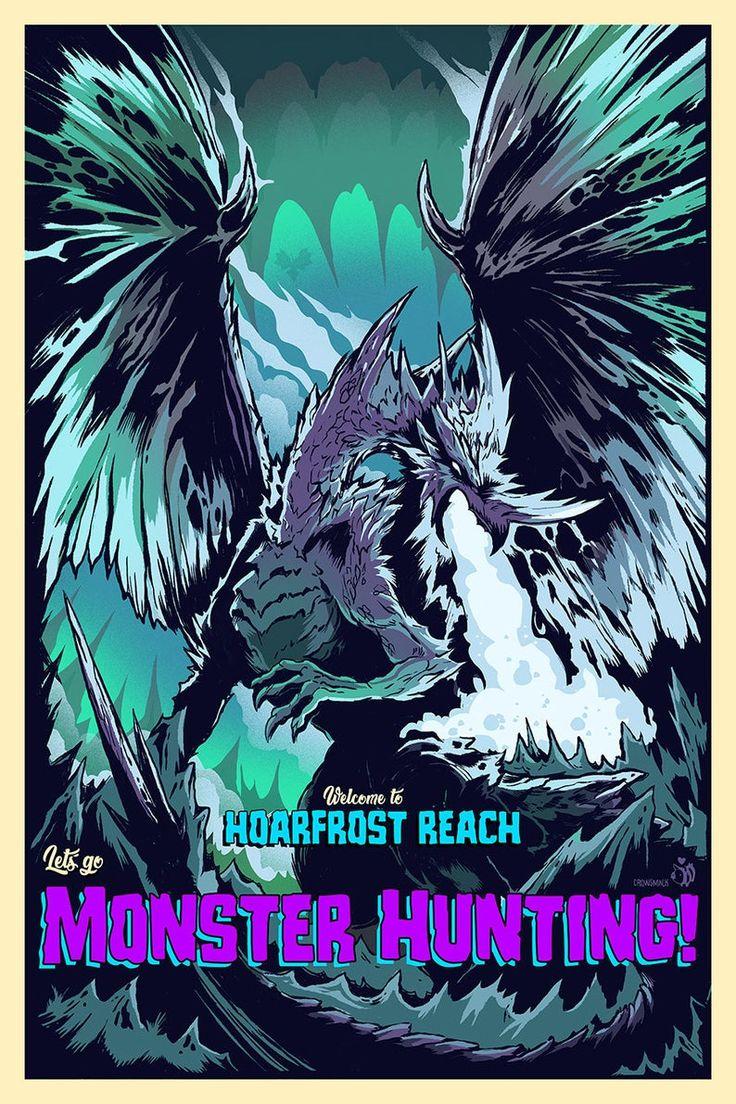 Hoarfrost reach velkhana lets go monster hunting video