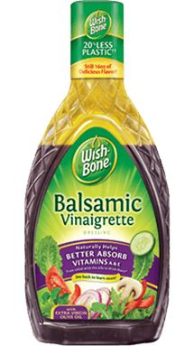 Balsamic Vinaigrette Salad Dressing | Wish-Bone®