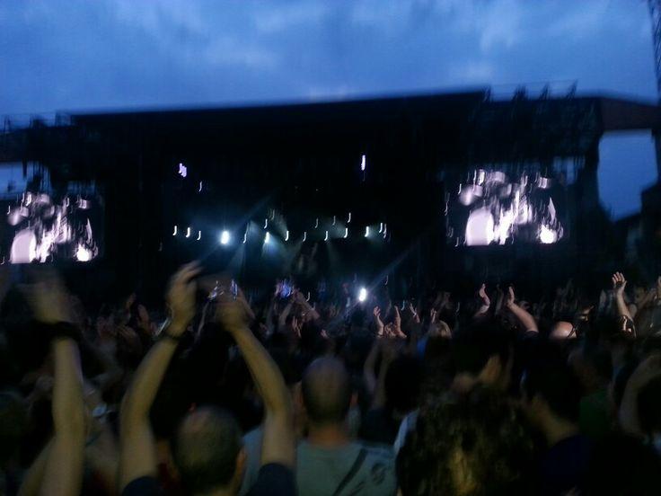 Pearl Jam Tour 2014, Trieste.