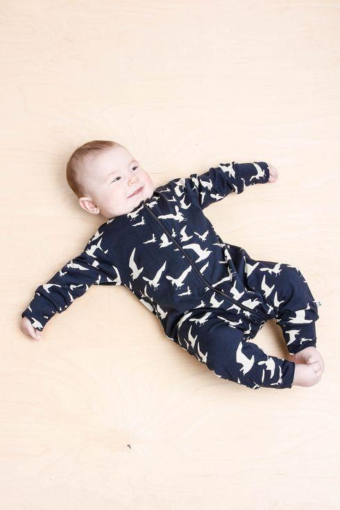 EM Pyjamas Gull - emma och malena