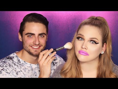 This has to be the funniest 'Boyfriend Does My Makeup' tag we've seen!