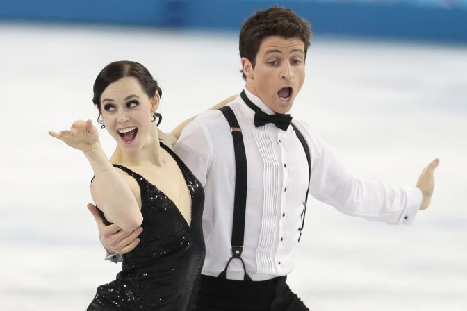 Canada's Tessa & Scott Sochi Olympics Figure Skating. These two are awesome!