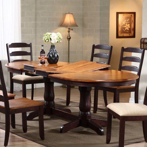 1000 ideas about pedestal dining table on pinterest farmhouse dining room table farmhouse - Traditional farmhouse style dining table to enhance the room ...