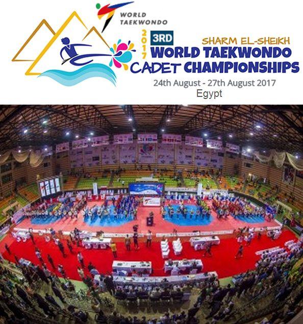Oι νικητές και τα μετάλλια στο 3rd World Taekwondo Cadet Championships 2017 στην Αίγυπτο