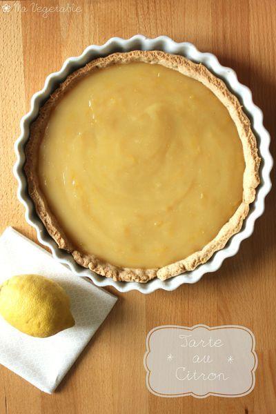 Tarte au citron vegan (remplacer par une pate sans gluten)