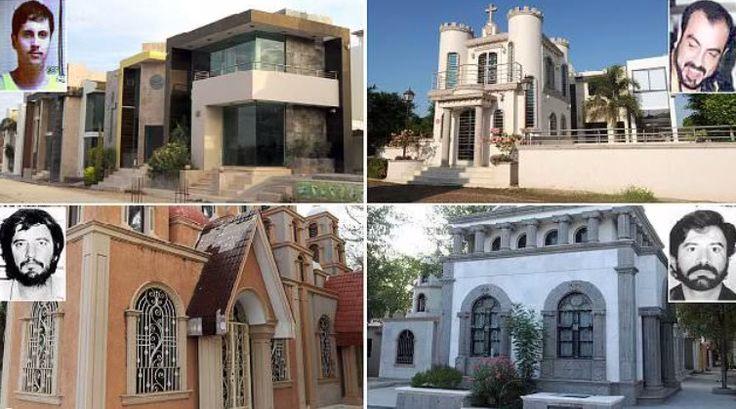 Cementerio Jardines del Humaya  Amado Carrillo  Ignacio Coronel Arturo Beltrán Leyva  Arturo Guzmán
