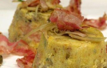 primo_tortino carciofi, patate e pancetta