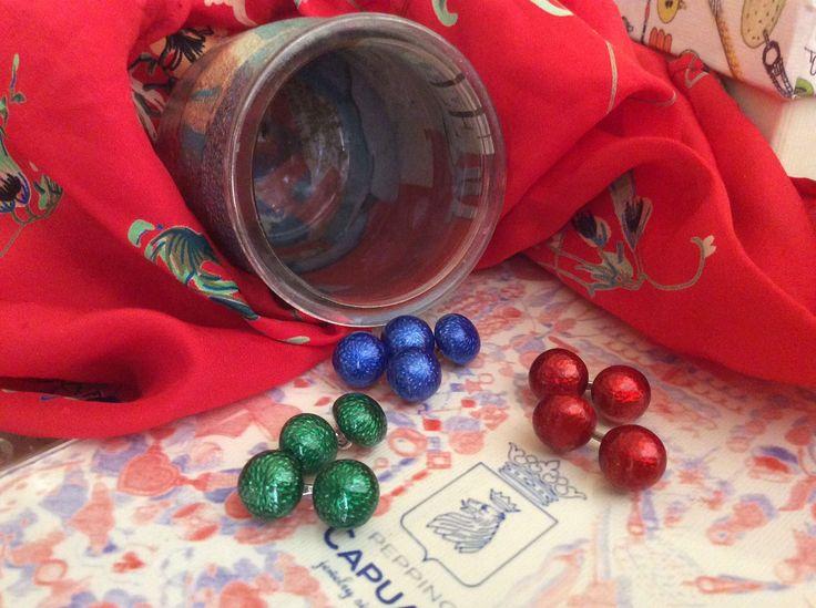 Un mix di colori versatili... #peppinocapuanojewelry#viacondotti#since1960#cufflinks#gemelli#silver#argento#enamel#smalto#manwithstyle#contemporaryluxury#littlebox#handmadeby#marilenarifilato#bestoftheday