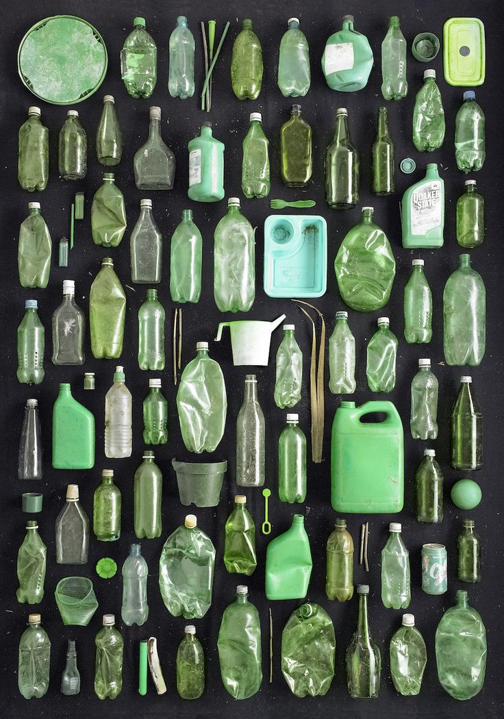 Les déchets de Barry Rosenthal - La boite verte