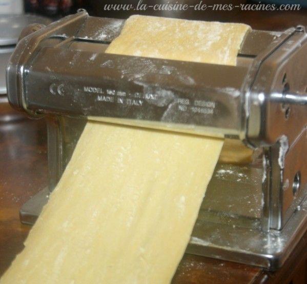 Pate fraiche maison pour lasagne Qui a dis que faire soi même les pate fraîche maison c'est fastidieux en tout cas moi je vous propose de les réaliser c