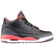 Air Retro Jordan 3 Bright Crimson Black Crimson-Bright Violet 136064-005 A03017 Price:$104.00  http://www.theblueretros.com/