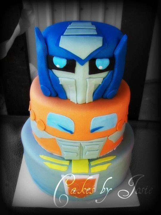 Transformer Cake Images